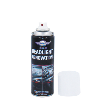 Headlight Restoration Kit,Headlamp Polishing Spray Kit,Headlight Restoration Lens Cleaning Tools for Car Care