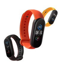 Originale Globale Versione Xiaomi Mi Banda 5 Fitness Pista di Ossigeno Nel Sangue Monitor di Frequenza Cardiaca di Band Touch Screen Intelligente Del Braccialetto