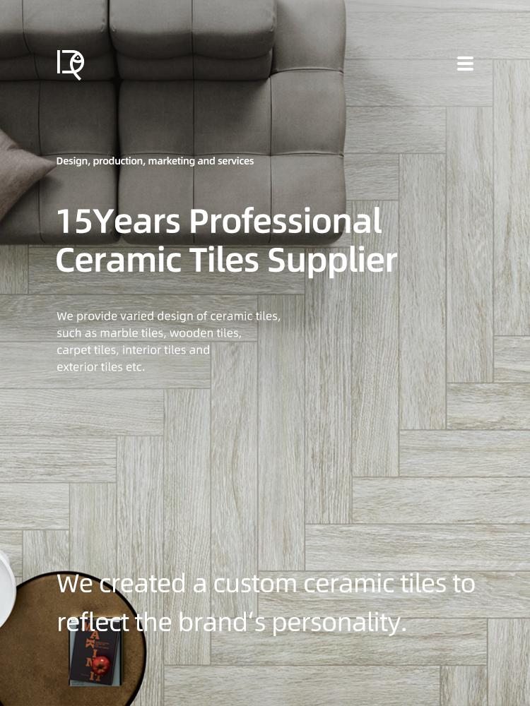 1200*200mm Grey Porcelain Wood Plank floor Tile Non-slip Glazed Tile Flooring Gray Rustic Wooden Plank Ceramic Tiles