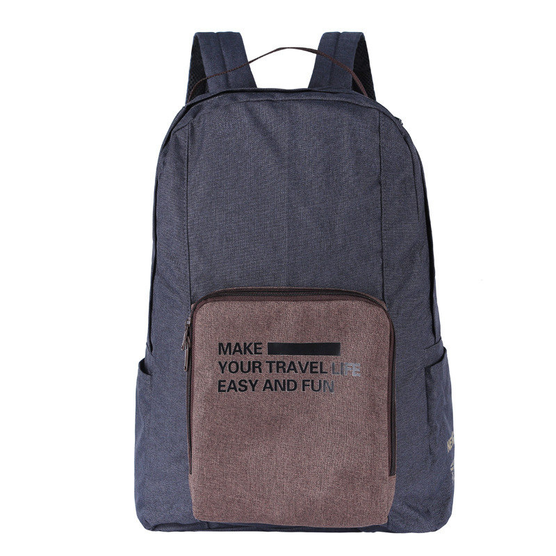 Custom New Material RPET Eco friendly Foldable Backpack