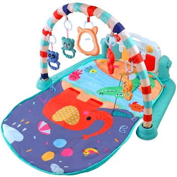 Baby Music Play Mat Piano Keyboard Infant Fitness Carpet Baby Gym Mat Educational Toys for New Born Toddlers Infant