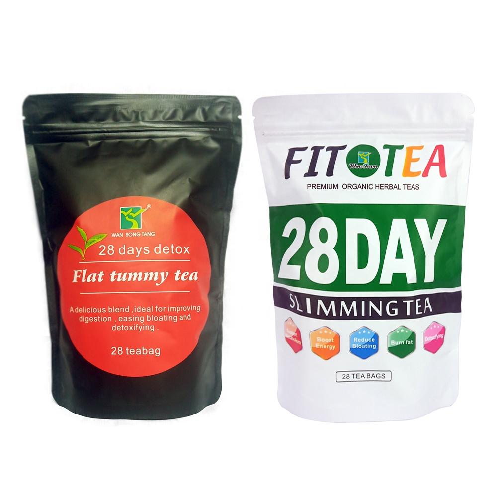 2020 Wholesale Slimming Tea 28 days detox Tea Flat Tummy Tea - 4uTea | 4uTea.com