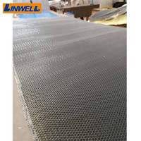 Expanded Aluminum Honeycomb Core for Fireproof Doors Sandwich Panels honeycomb core door aluminum honeycomb core