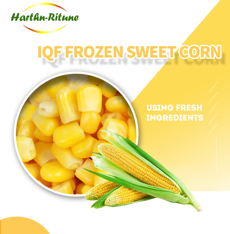 Healthy IQF Frozen Sweet Corn