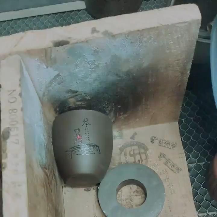 Sáng Tạo Cổ Đồ Đá Nhật Bản Tách Trà Thơm Yi Cup Handmade Lò Để Thay Đổi Gốm Sứ