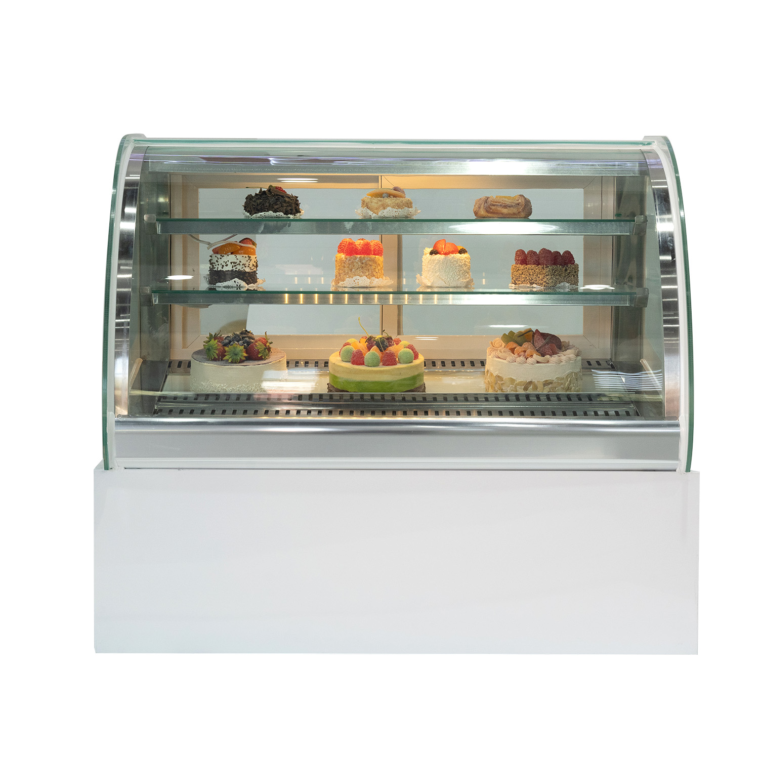 900mm cake showcase 102L display refrigerator cold food bars counter cake chiler table top cake chiller display