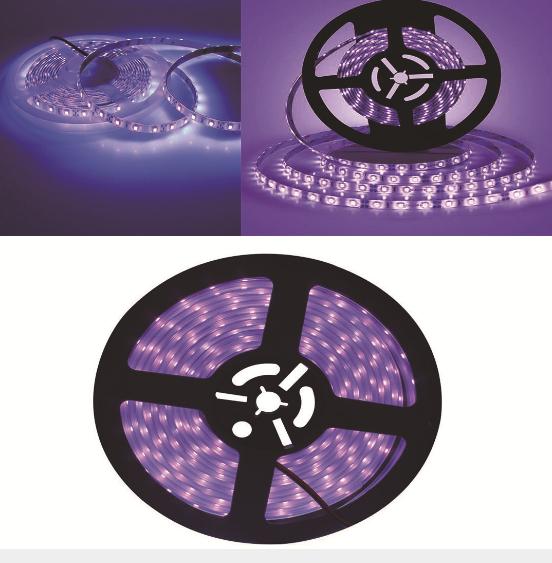 LED purple light with UV lamp belt 2835 5050 bar purple light 12v395-400nm strip led light