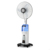China factory wholesales oem/odm 18 16 inch rechargeable indoor water mist spray air cooling fan