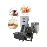 automatic onion peeler machine thailand onion peeling machine cutting onionskin removingmachine