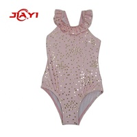 One piece Wholesale children little girls swimsuit model baby kids swimwear