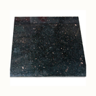 Polished black galaxy granite tiles for floor and wall