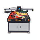 1 Year Warranty [ Printer ] Kingt Printing Machine A1 Led Digital UV Flatbed Printer With Ricoh Gh2220 Gen5 G6 Head For Glass Wood Metal Ceramic Phone Case