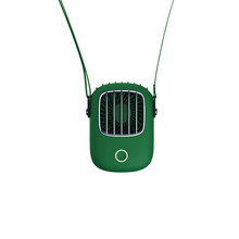 Мини-вентилятор без рук, маленький вентилятор, кулер с usb-вентиляторами, висящими вокруг шеи, для занятий спортом на открытом воздухе, офиса(Китай)