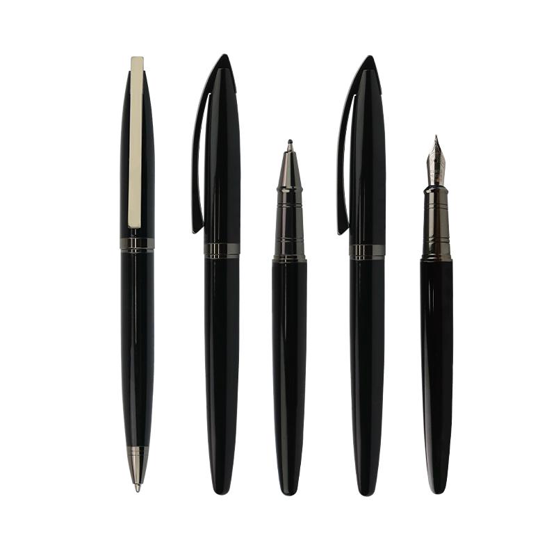 Nouvelles idées de produits 2020 intelligent stylo d'écriture de luxe adaptée aux besoins du client de fontaine stylo innovant stylo plume noir encre
