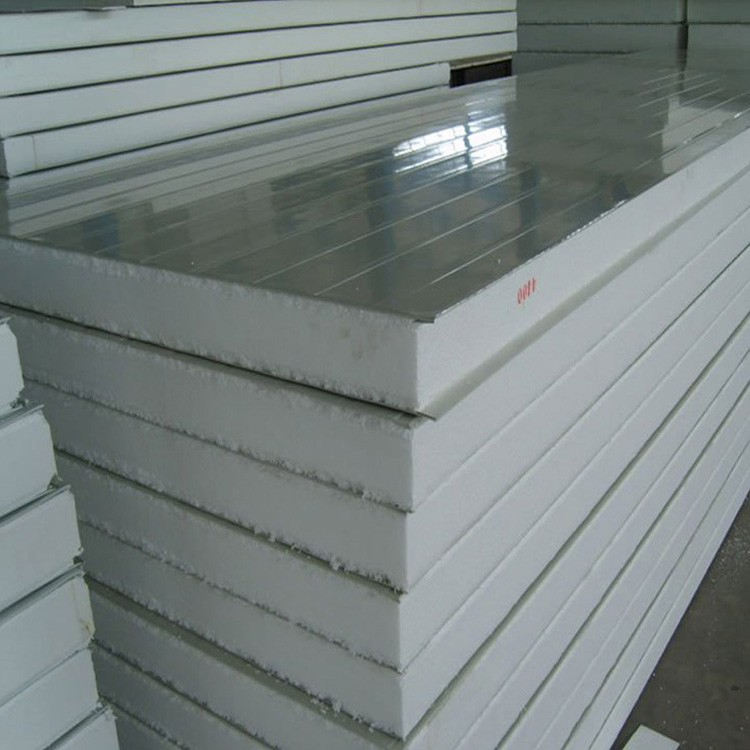 Easy Installation 50mm 75mm 100mm Thickness EPS Sandwich <strong>Panel</strong> for Roof and Wall