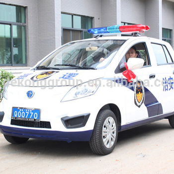 2015 new design famous environmental friendly electric patrol car