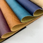Leather tannery wholesale printed PVC synthetic leather for handbag and sofa material faux