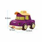 Car And Music Kids Car For Kids Electric Mini Classic Electric Cartoon Truck Car With Lighting And Music For Kids