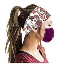 Женские повязки на голову для мужчин и женщин, повязки на голову С кнопками для бега, йоги, эластичные повязки для волос С Ушками #30(Китай)