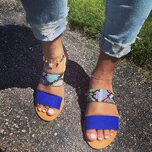 DORATASIA/Новинка, лидер продаж, повседневные шлепанцы на плоской подошве, летние шлепанцы на низком каблуке, женские модные разноцветные туфли(Китай)