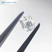 Tianyu promovido 1ct Lab grown <span class=keywords><strong>diamante</strong></span> IGI certificadas D E F G H cor VS clareza Si Emerald cut CVD <span class=keywords><strong>diamante</strong></span>