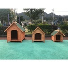 Factory hot selling wood outdoor dog pet house