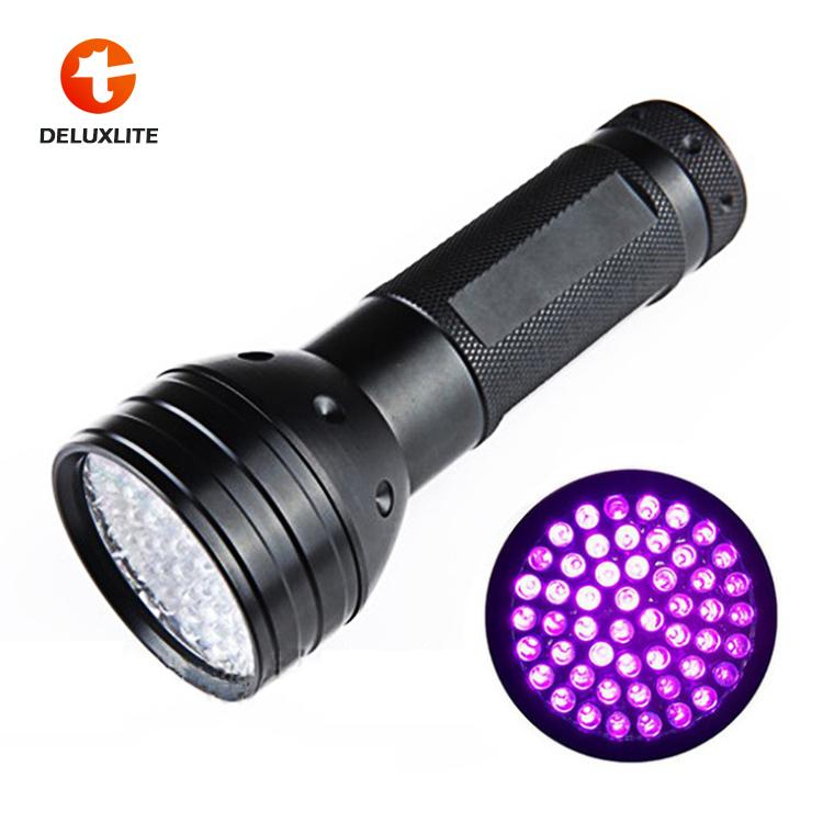 51 LED UV Flashlight Catch Scorpions Purple Lights Southeast Asia Hot Sales Aluminium Alloy Flashlight