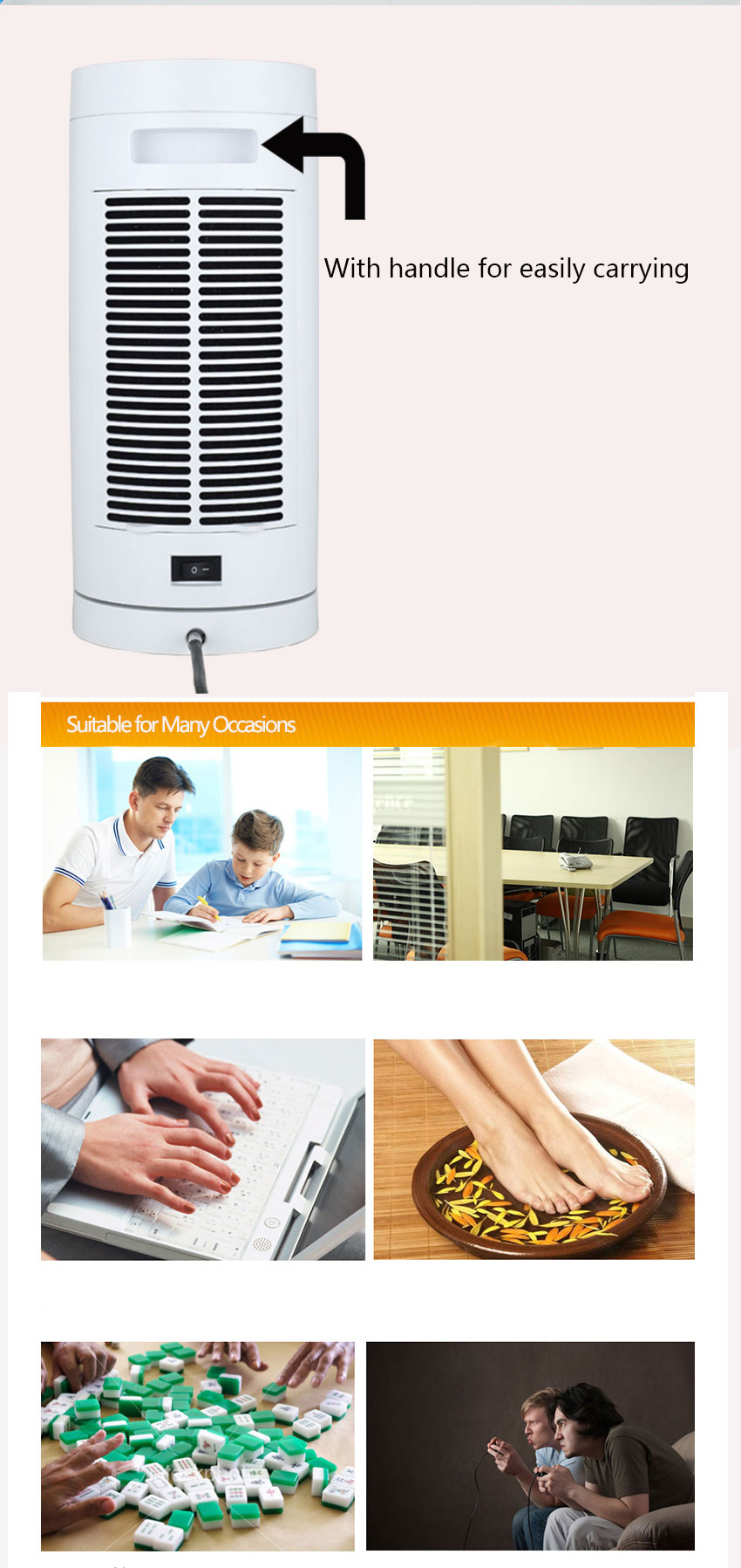Made in china electrical appliances electric halogen heater electric fan ptc heater