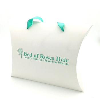 Custom printed fashion virgin hair weave extensions packaging bags