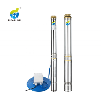 100QJD2 High quality MAX head Deep Water Well Cast Iron Water Hand Pumps for Drinking Water