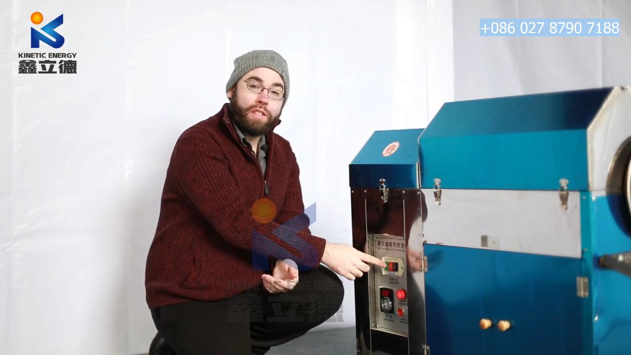 Küçük kahve çekirdeği tohumu yerfıstığı fındık fıstık kavurma kavurma makinesi elektrikli kahve kavurma makineleri