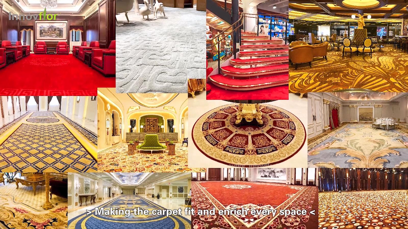 Karpet Anyaman Tangan Diikat Tangan Bentuk Berbeda Wol Mewah Selandia Baru Ruang Keluarga Di Bawah Sofa Meja Kopi Karpet Berumbai Tangan