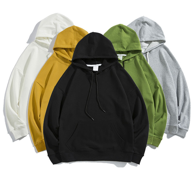 New hip hop oversized men heavy weight hoodies with fleece WARM mens kanye west hoodie swag pullover sweatshirt