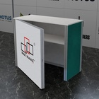 Booth Custom Aluminium Reused Counter Locked Door Desk Portable Trade Show Booth Table