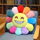 Supplier Plush toy sunflower embrace pillow high quality house and home ornaments Petal plush seat cushion Gifts customized