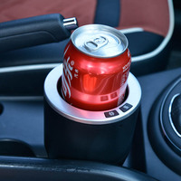 DC 12v car accessories smart car cup holder warmer for can bottle drink juice