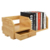 Wholesale High Quality Natural 100% Bamboo Wooden Bookshelf Organizer