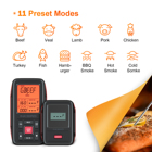 Inkbird 150ft wireless range digital oven barbecue grill thermometer IRF-2SA