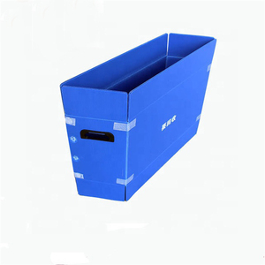 Wholesale Waterproof Eu Pp Boxes Corrugated Packaging Sheets Stackable Correx Plastic Crate