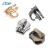 Factory wholesale hardware accessories Fashion handbags bag slider zipper sliders and pullers metal zipper slider