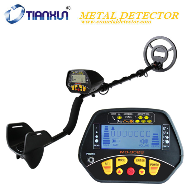 MD-3028 Underground Metal Detector Night Vision Pinpointing LCD Display Detector