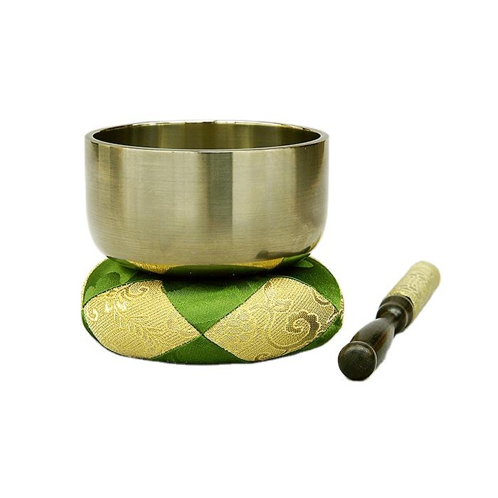 Japanese buddhist bell metal artware decorative brass bowl for wholesale