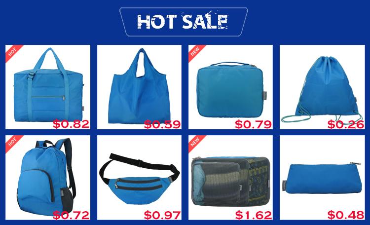 Heavy Duty Espandibile Tote Bag Pieghevole Riutilizzabile In Poliestere 190T Pieghevole Sacchetto di Acquisto di Generi Alimentari
