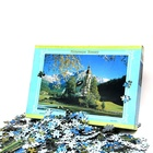 1000 pieces high quality customized puzzle game with eco-friendly cardboard jigsaw puzzle