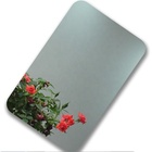Decorative 304 fine grinding mirror stainless steel sheet 0.8mm 1.0mm 1.2mm for building facade