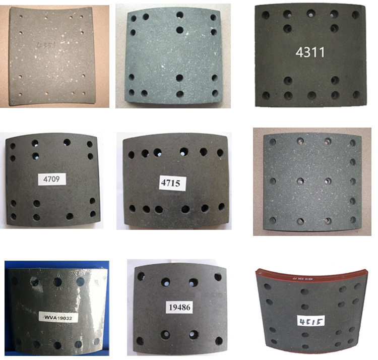 121*11*37mm 5878316920 Remvoering voor Commerciële Voertuig