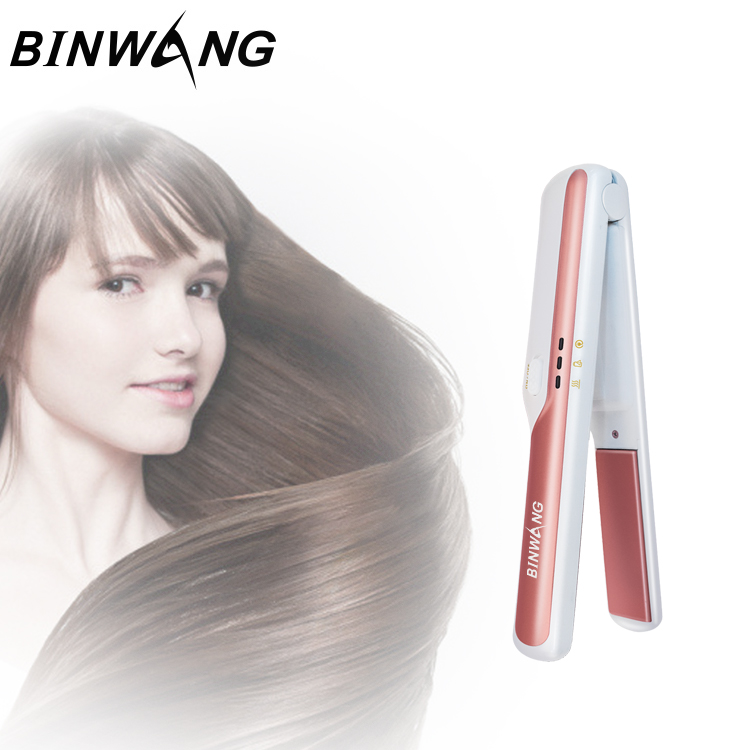 Cordless <strong>Hair</strong> Flat Iron and Battery <strong>Hair</strong> <strong>Straightener</strong> Travel Portable Wireless Mini <strong>Hair</strong> Curling