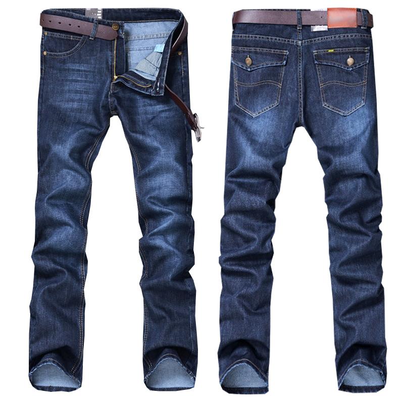 Высокое качество, оптовая продажа, мужские хлопковые Прямые классические джинсы, мужские джинсовые штаны, новый дизайн, мужские повседневные брюки