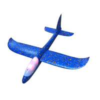 Flying Glider AirPlane with Light Model Toys Kids Hand Throwing Foam Air plane toy Epp material