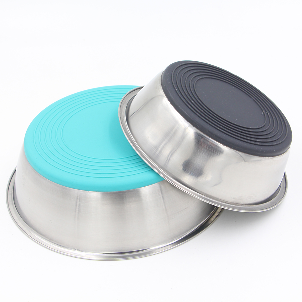 Wholesale cheap bulk personalized dog bowls stainless steel 201